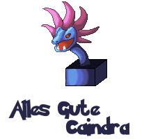 Pokémon-Pixelart: Alles Gute Caindra :3