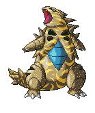Pokémon-Pixelart: Coloration - Despo