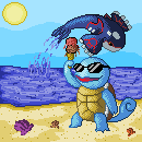 Pokémon-Pixelart: Finally Summer...