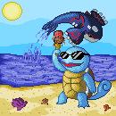 Pokémon-Pixelart: Finally Summer...