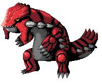 Pokémon-Pixelart: GROUDON 500. Fanart