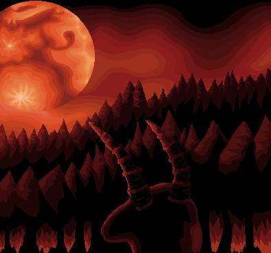 Pokémon-Pixelart: Moonspell