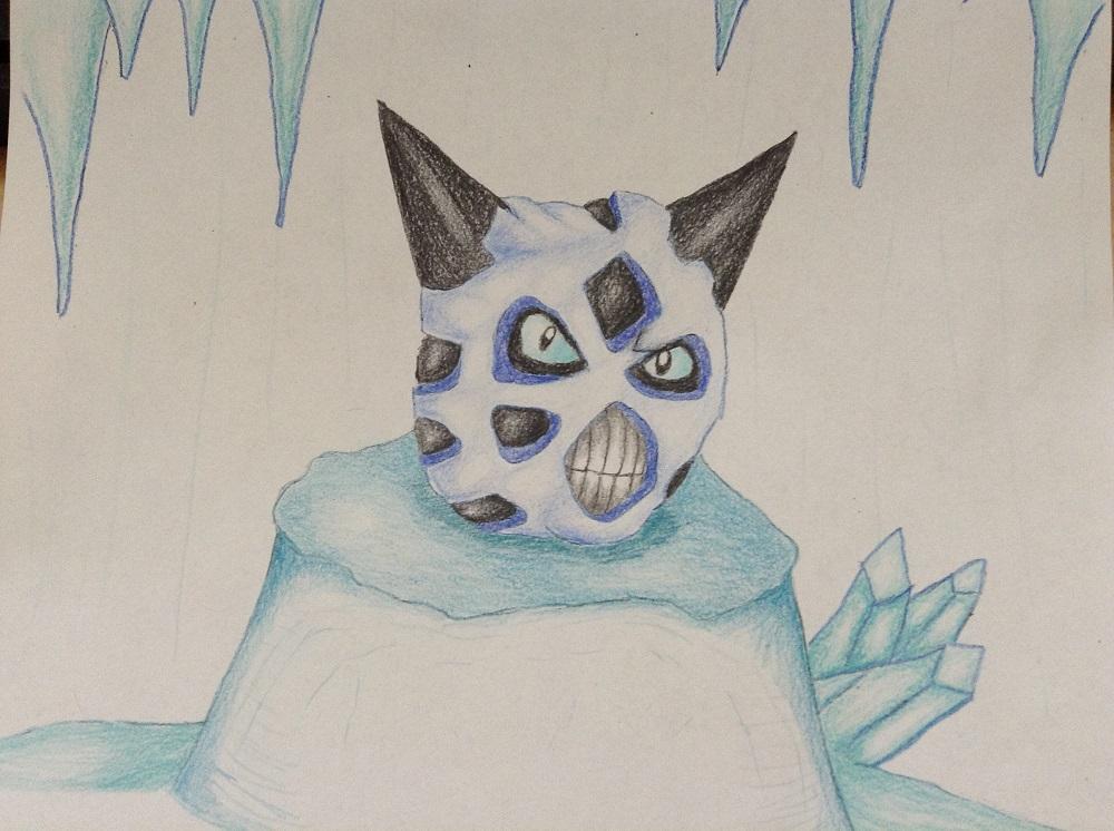 Pokémon-Zeichnung: Firnontor