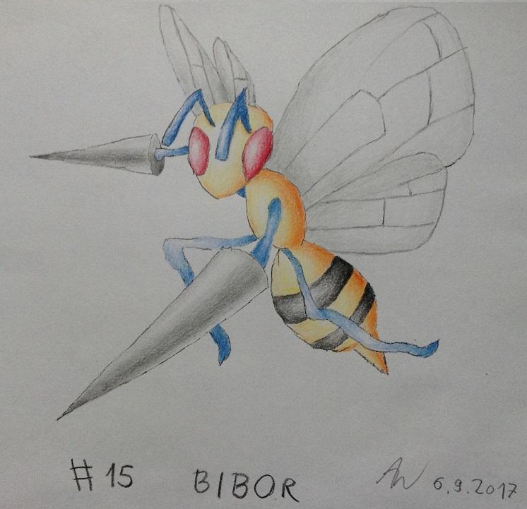 Pokémon-Zeichnung: #15 - Bibor