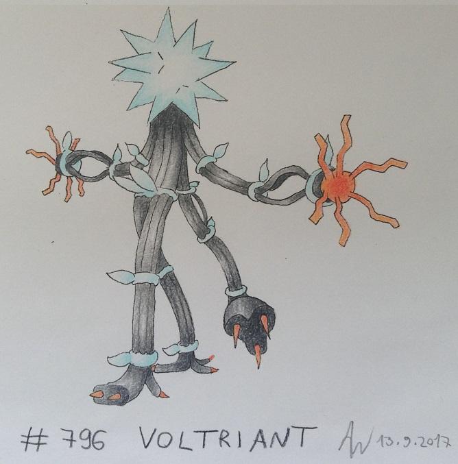 Pokémon-Zeichnung: #796 - Voltriant