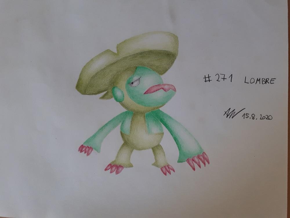 Pokémon-Zeichnung: Lombrero