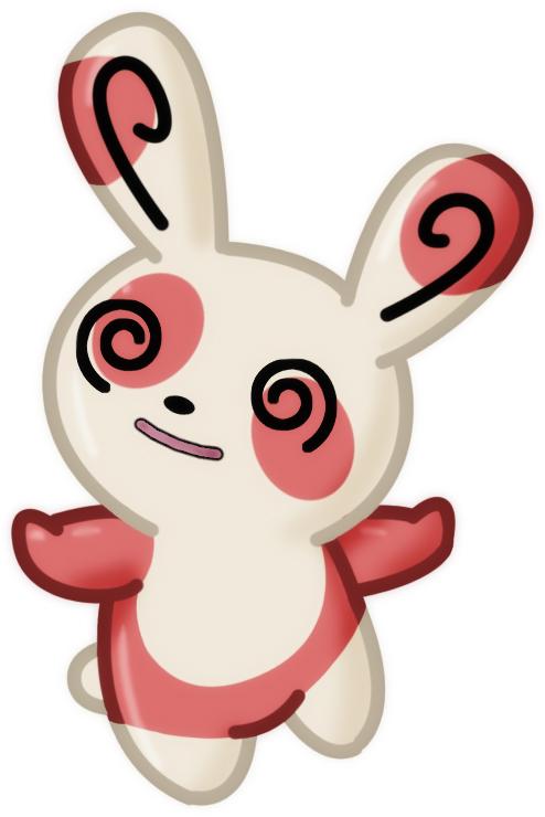 Pokémon-Zeichnung: Pandir