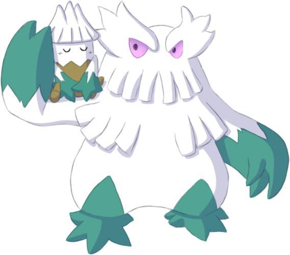 Pokémon-Zeichnung: Hagelalarm!