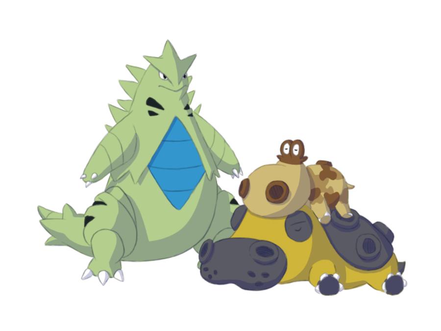 Pokémon-Zeichnung: Sandsturm!