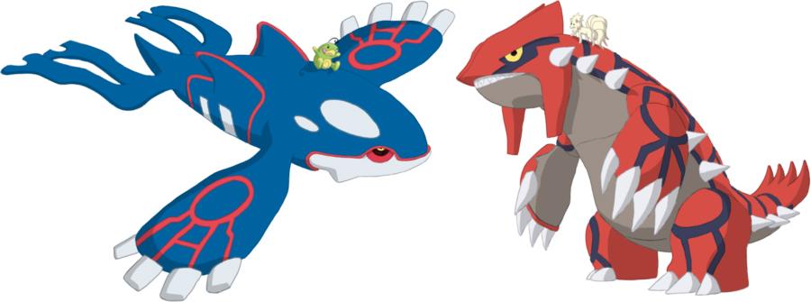 Pokémon-Zeichnung: Niesel und Dürre