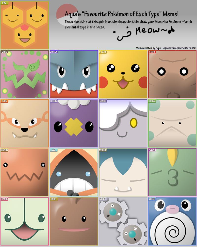 Pokémon-Zeichnung: Pokémeme