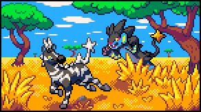Pokémon-Pixelart: Überraschung!