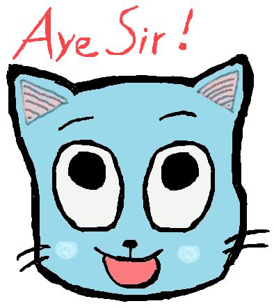 Pokémon-Zeichnung: AYE SIR