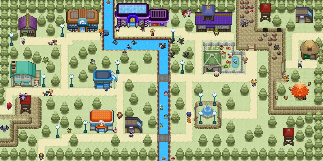 Pokémon-Map: Lakenia City