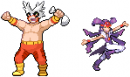 Trainer Pokemon Fusion Eis + Geist