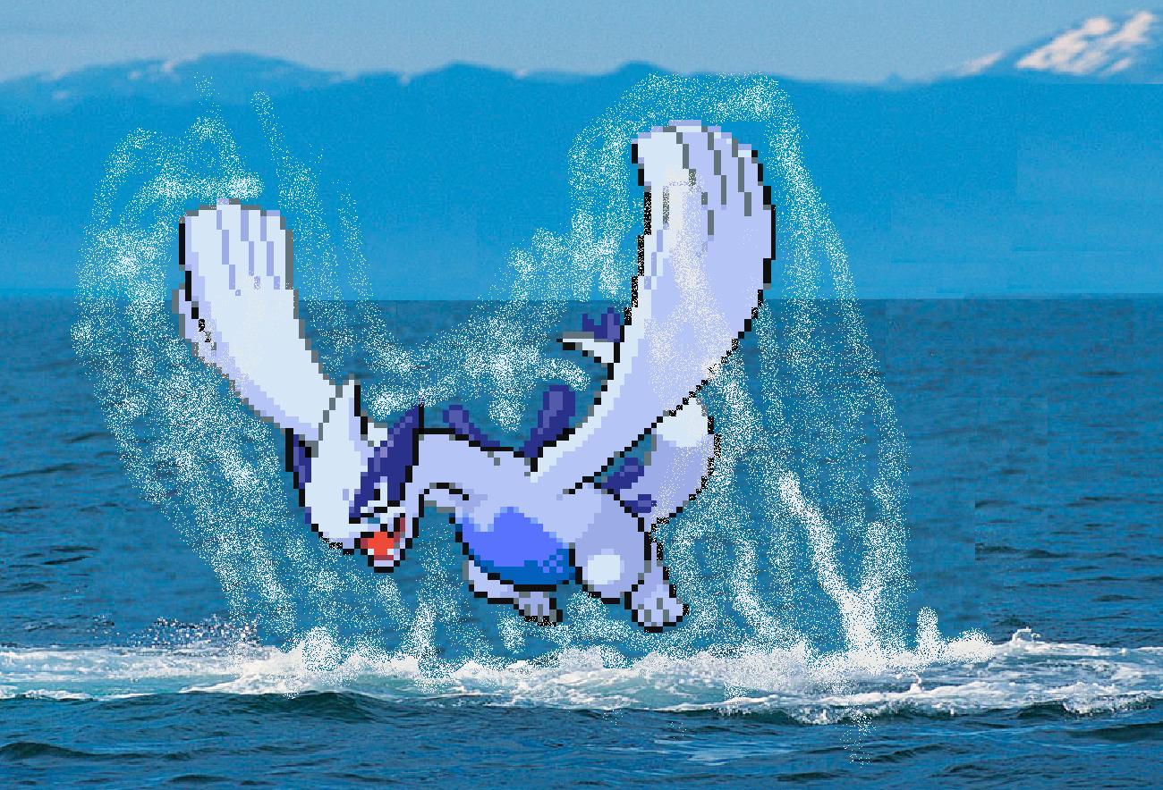 Fanart Real Lugia Pokémon Fanart