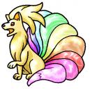 Regenbogen-Vulnona für Vulnonchen+