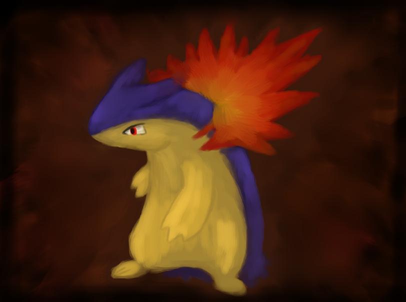 Pokémon-Fanart: SAI. Tornupto