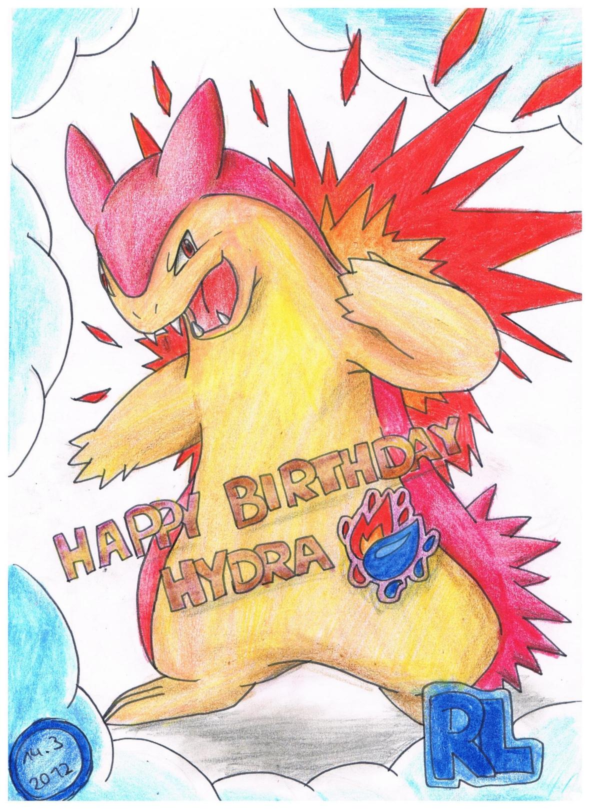 Pokémon-Zeichnung: Hydra's Tornupto