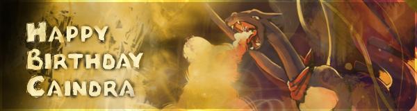 Pokémon-Fanart: Happy Birthday Caindra!