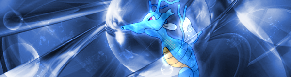 Pokémon-Fanart: Übungsbanner - Seedraking