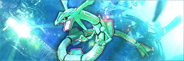 Pokémon-Fanart: Rayquaza - Beispielbanner (?)