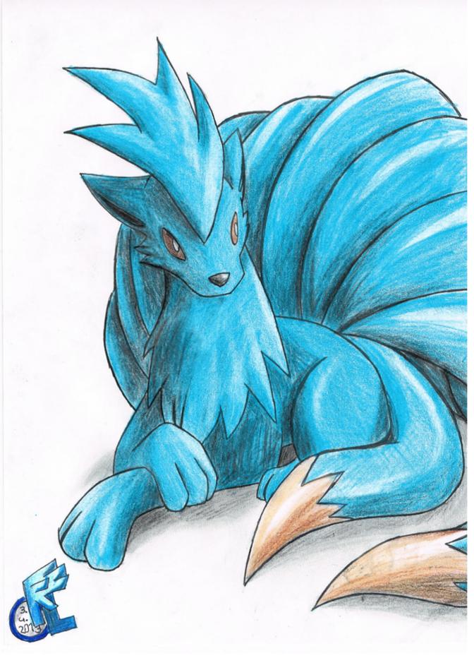 Pokémon-Zeichnung: Shouta
