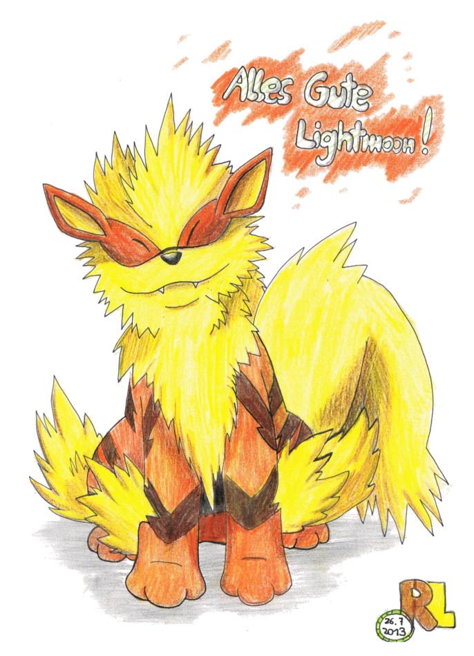Pokémon-Zeichnung: Geburtstagsgeschenk