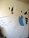 Lugia-Wandmalerei
