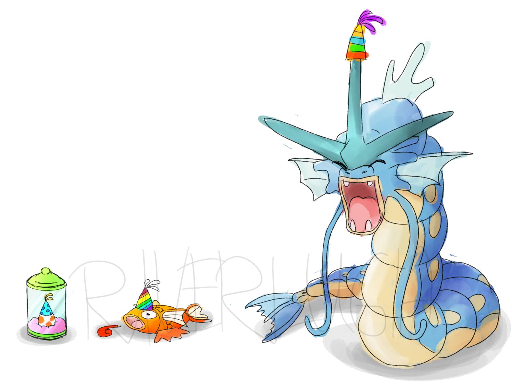 Pokémon-Zeichnung: They Grow Up So Fast
