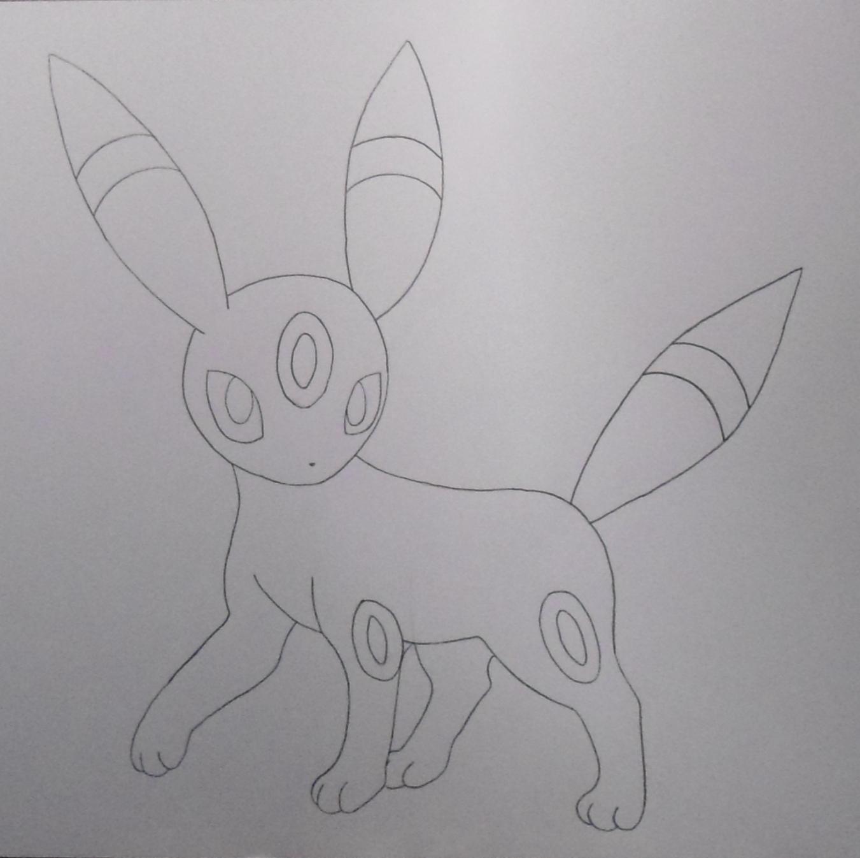 Pokémon-Zeichnung: Zeichnung von Nachtara