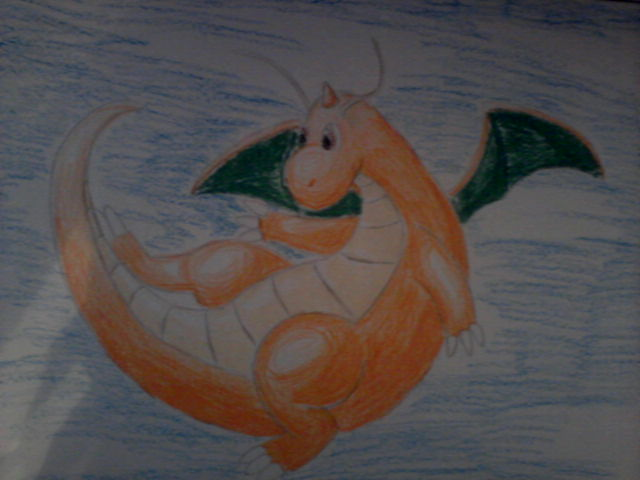 Pokémon-Zeichnung: Waxmaldrache
