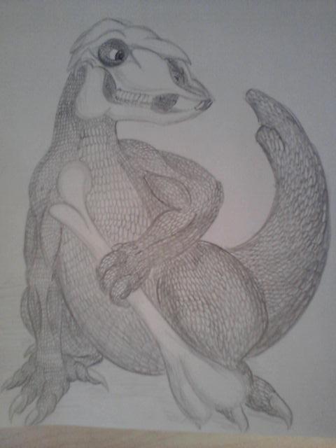 Pokémon-Zeichnung: Knogga