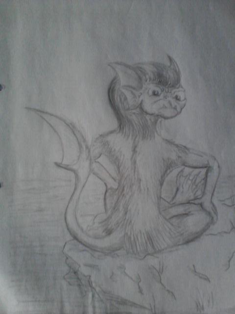 Pokémon-Zeichnung: Sodachita....