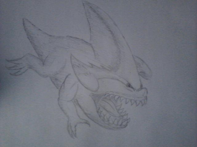 Pokémon-Zeichnung: Kaumalat