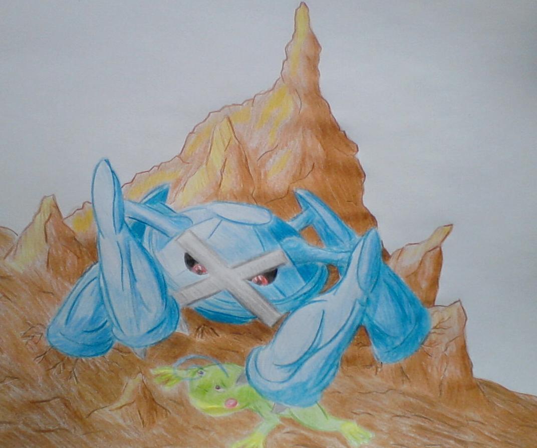 Pokémon-Zeichnung: Doooooooooooof