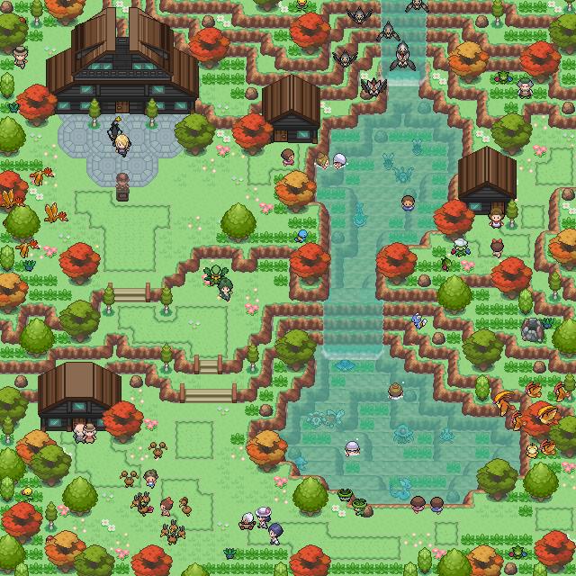 Pokémon-Map: Liebevoller überfluss