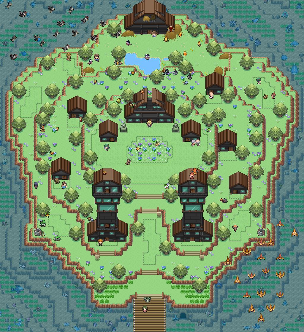 Pokémon-Map: Eine Fail map