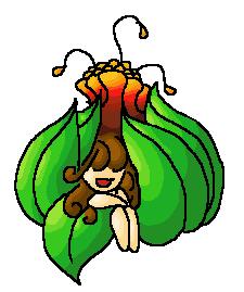 Pokémon-Zeichnung: Saisoflor
