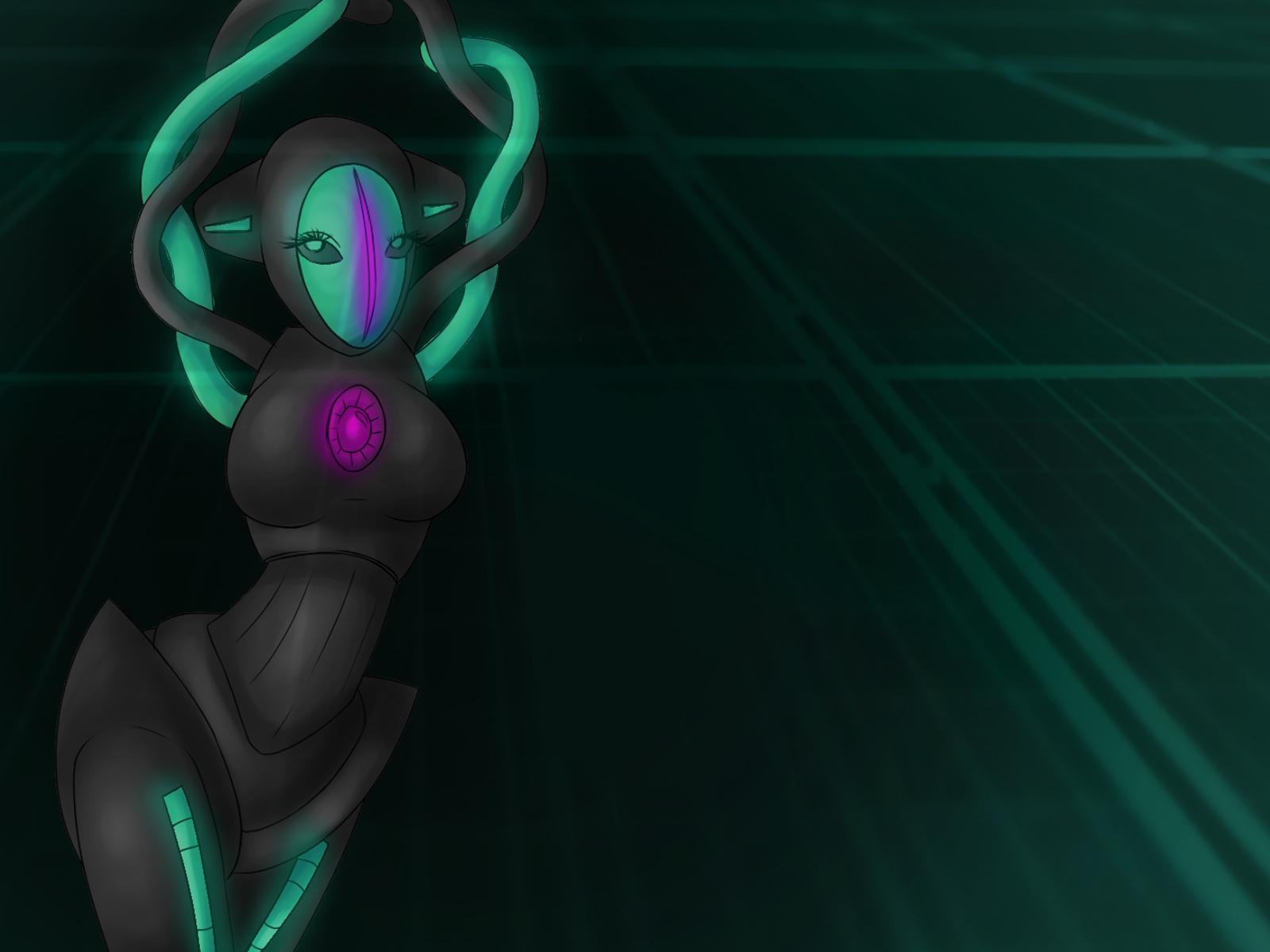 Pokémon-Zeichnung: Sexy deoxy