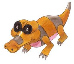 Pokémon-Zeichnung: Meguroko