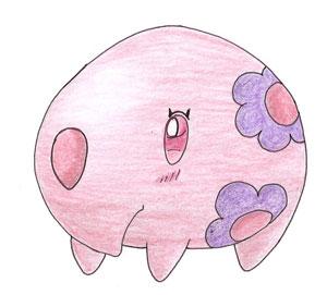 Pokémon-Zeichnung: Muuna