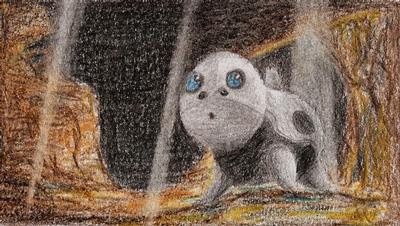 Pokémon-Zeichnung: Stollunior
