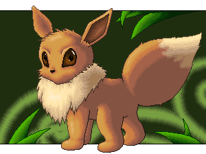 Pokémon-Pixelart: Evoli Pixelart