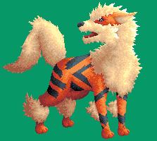 Pokémon-Pixelart: Arkani