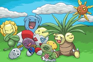 Pokémon-Pixelart: Suchbild