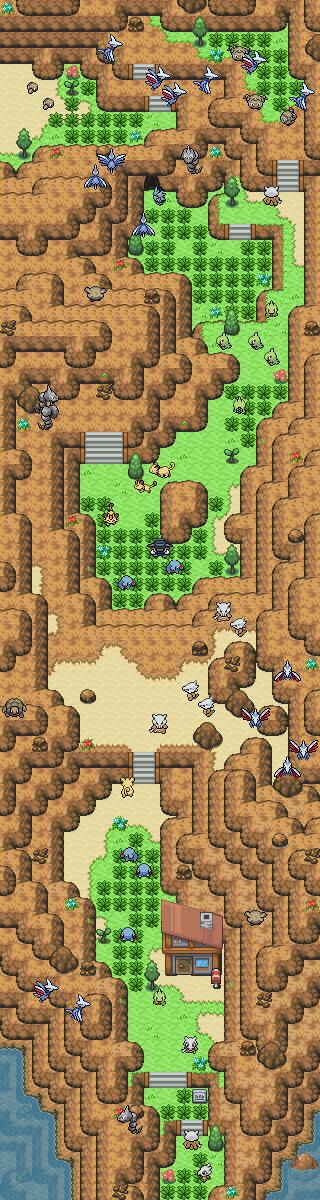 Pokémon-Map: 7-Schatzschlucht