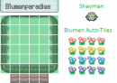 Pokemon Blumenparadies Tiles