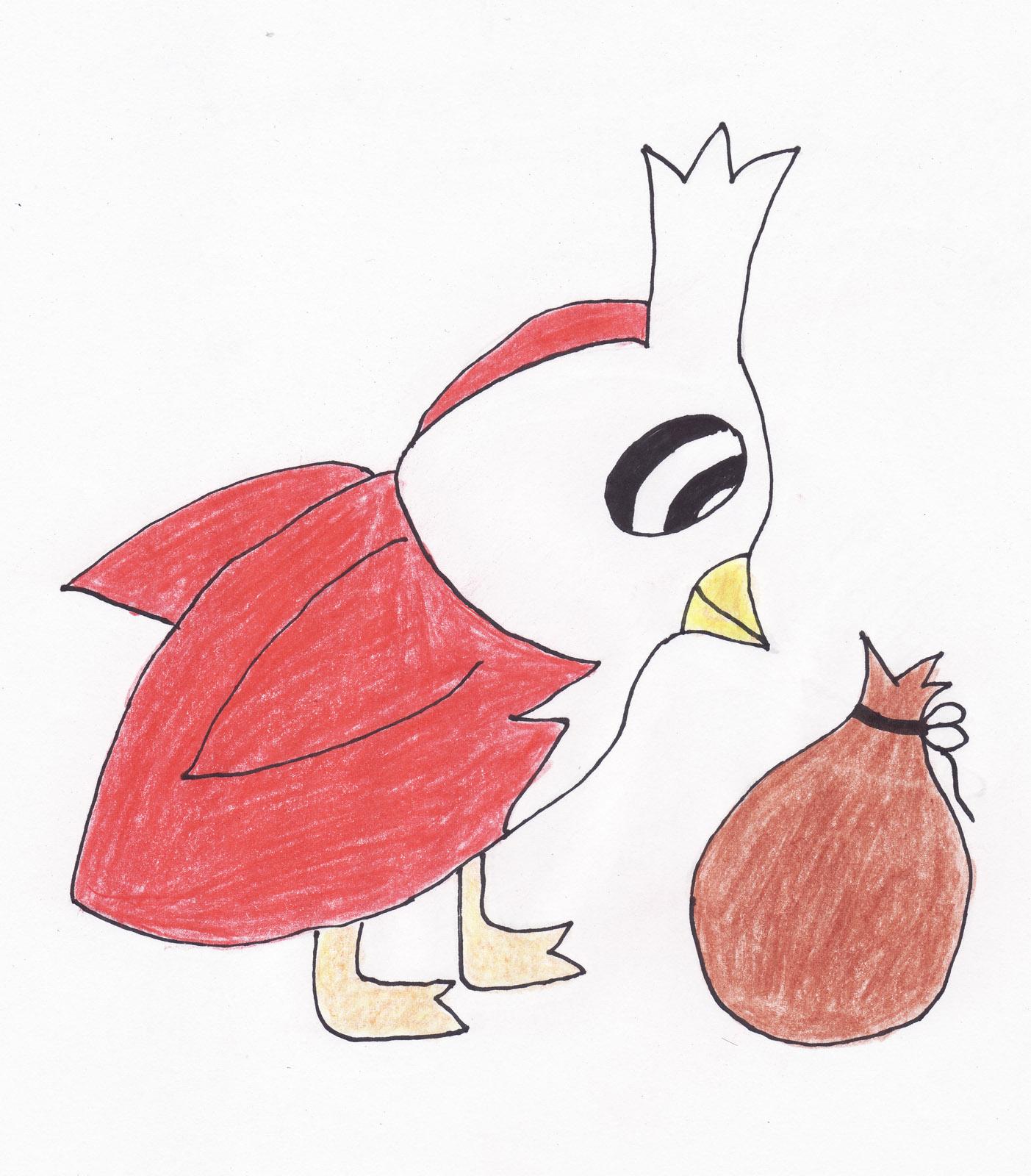 Pokémon-Zeichnung: Botogel - Vorentwicklung