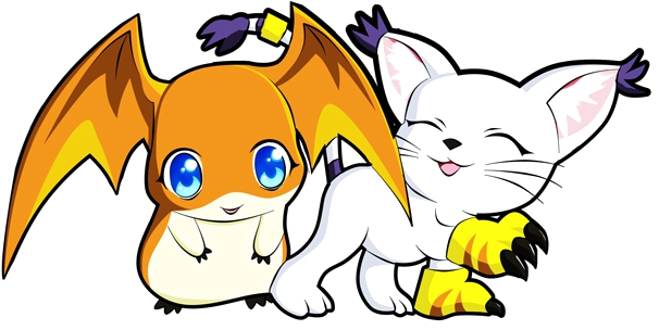 Gatomon And Patamon Patamon und Gatomon